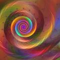 Rainbow Whispers by Kiki Art
