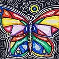 Rainbows And Butterflies by Shana Rowe Jackson