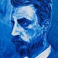Rainer Maria Rilke by Sviatoslav Alexakhin
