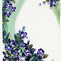 Raining Violets by Rita Miller