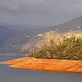 Rainstorm On The Lake by AJ  Schibig