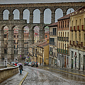 Rainy Afternoon In Segovia by Joan Carroll