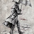 Rainy Day #07 Drawing by Emerico Imre Toth