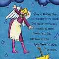 Rainy Day Angel by Sarah Batalka
