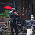 Rainy Day Blues New Orleans by Kathleen K Parker