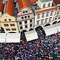 Rainy Day In Prague-1 by Diane Macdonald