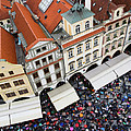 Rainy Day In Prague-2 by Diane Macdonald