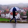 Rainy Day In Sembach by Bob and Kathy Frank