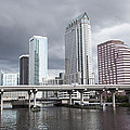 Rainy Day In Tampa by Ramunas Bruzas