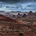 Rainy Day In The Desert by Rick Berk