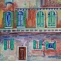 Rainy Day In Venice Italy by Anna Ruzsan