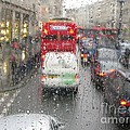 Rainy Day London Traffic by Ann Horn