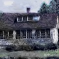 Rainy Day Long Ago House by RC DeWinter