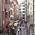 Rainy Day Shopping by Ann Horn
