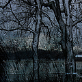 Rainy Days And Mondays- Feature-barns Big And Small-visions Of The Night-photography And Textures by Ericamaxine Price