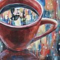Rainy Diamonds Cafe' by Shannon Lee