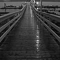 Rainy Evening On The Dock by Inge Riis McDonald