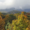 Rainy Fall Day In The Mountains by Kenny Francis