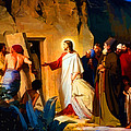 Raising Of Lazarus by Don Kuing