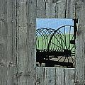 Rake And Barn by Doug Davidson