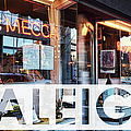 Raleigh At The Mecca by Paulette B Wright