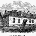 Raleigh Tavern, 1770s by Granger