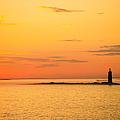 Ram Island Light Casco Bay Maine by Diane Diederich