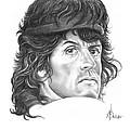 Rambo-sylvester-stallone by Murphy Elliott