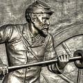 Ramming The Charge. Detail-c 1st New York Light Artillery Fitzhughs Battery K Gettysburg by Michael Mazaika