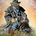 Ranch Hand Friends by Rick Unger