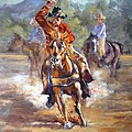 Ranch Rodeo Time by J P Childress