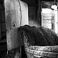Ranchers House Black And White II by Phil Dionne