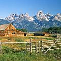 1m9392-ranchland And The Tetons by Ed  Cooper Photography