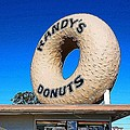 Randy's Donuts by Mark J Dunn
