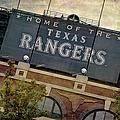 Rangers Ballpark In Arlington Color by Joan Carroll