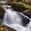 Rapids At Autumn by Andrew Soundarajan