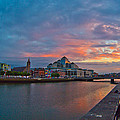 Rare Irish Sunset by Alex Art and Photo