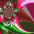 Raspberry Garden by Absinthe Art By Michelle LeAnn Scott