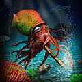 Rasta Squid by Alessandro Della Pietra