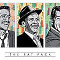 Rat Pack Pop Art by Jim Zahniser