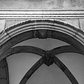 Rathaus Arch Bw Cologne Germany by Teresa Mucha