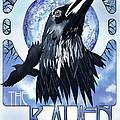 Raven Illustration by Sassan Filsoof