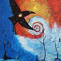 Raven In The Swirl by Stefan Duncan
