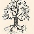 Raven's Magic Oak by Margaryta Yermolayeva