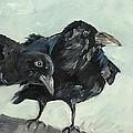 Raven's Perch by Saundra Lane Galloway