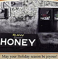 Raw Desert Honey Christmas Card Florence Arizona 2007 by David Lee Guss