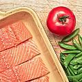 Raw Salmon by Tom Gowanlock