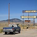 Rawlins Wyoming - Grandma's Cafe by Frank Romeo