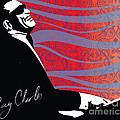 Ray Charles Jazz Digital Illustration Print Poster  by Sassan Filsoof