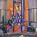 Raymond Vineyards Crystal Cellar II by Donna Tuten